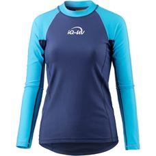 iQ Surf Shirt Damen blau/türkis