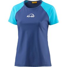 iQ UV-Shirt Damen blau/türkis