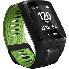 TomTom RUNNER 3 Cardio+Music+Headphones Sportuhr schwarz-grün