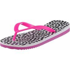 Flip Flop Flip Dots Zehensandalen Damen weiß/pink