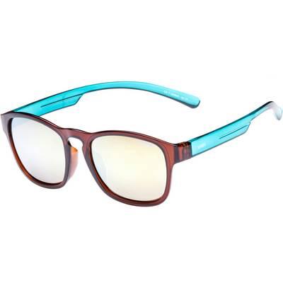 Uvex lgl 34 Sonnenbrille braun/türkis