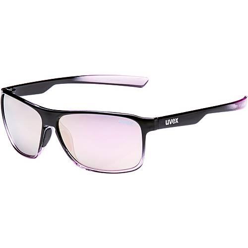 Uvex lgl 33 pola Sonnenbrille schwarz/lila