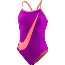 Nike Badeanzug Damen vivid purple