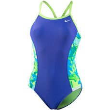 Nike Badeanzug Damen electro green