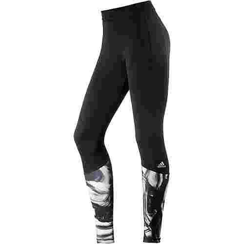 adidas Techfit Tights Damen black/print