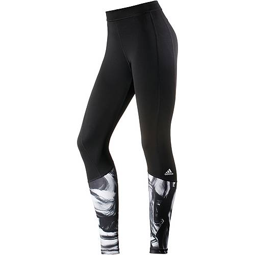 adidas Techfit Tights Damen black/print