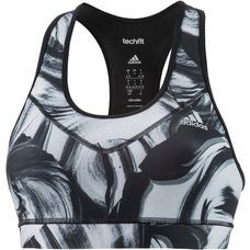 adidas Techfit Sport-BH Damen print/white/black