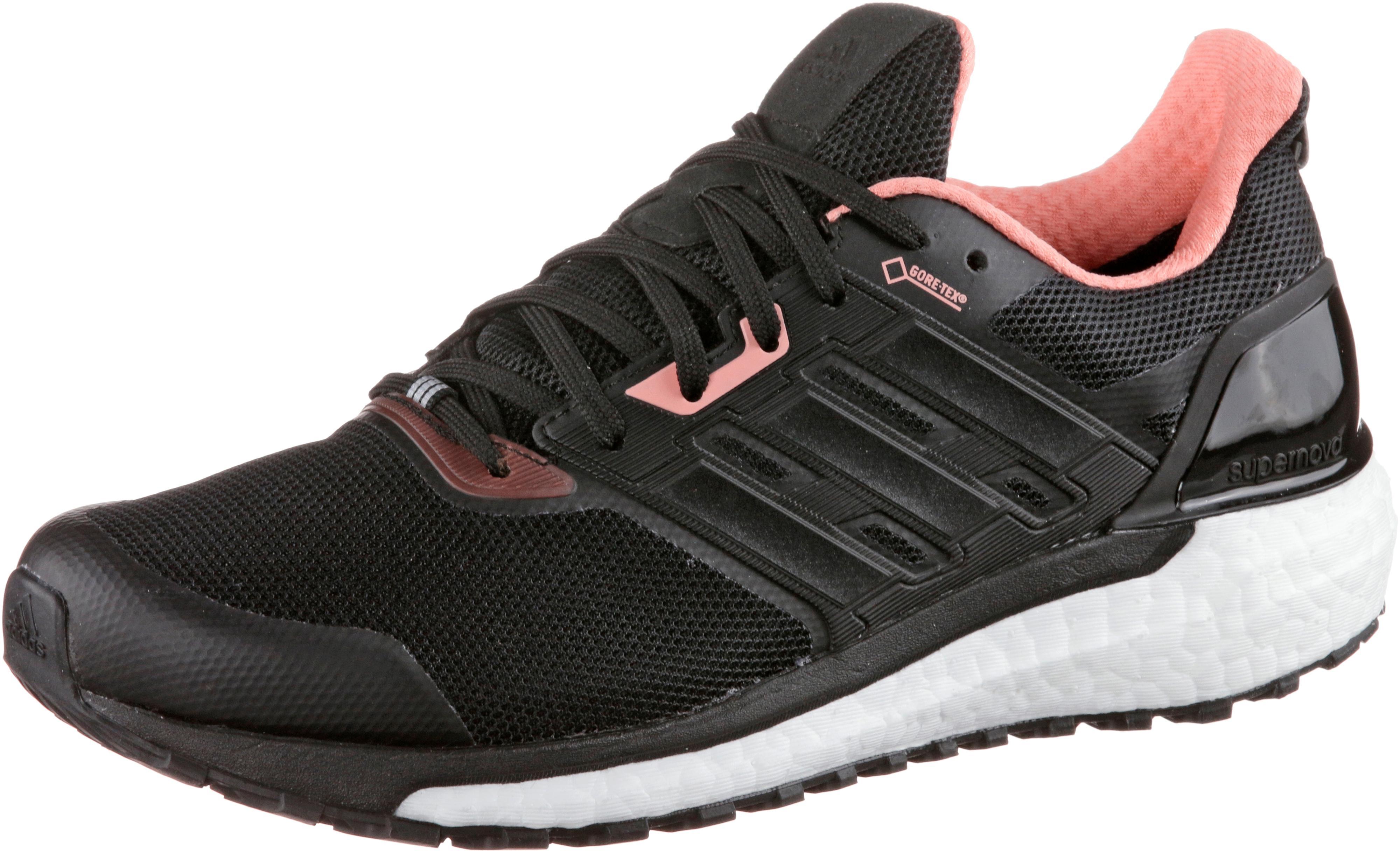separation shoes f1c2e cc2a7 Adidas supernova gtx Laufschuhe Damen core black im Online Shop von  SportScheck kaufen