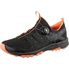 ASICS GEL-FUJIRADO Laufschuhe Herren black/carbon/hot orange