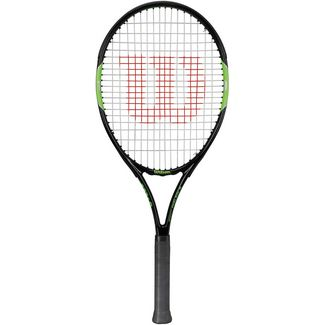 Wilson Blade Team 26 Tennisschläger Kinder black/green