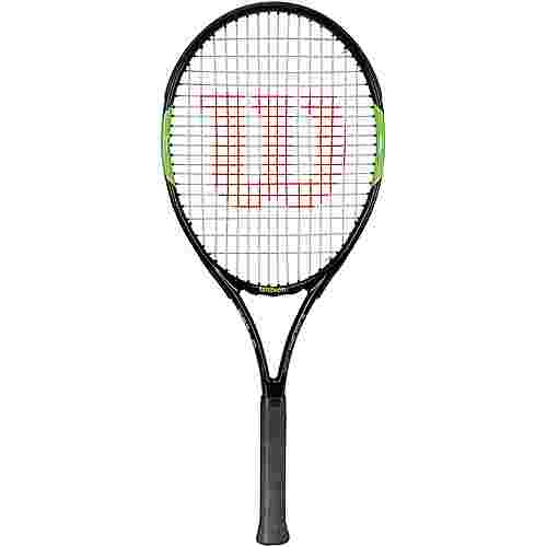 Wilson Blade Team 26 Tennisschläger Kinder black/green