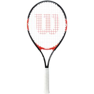 Wilson Roger Federer 25 Tennisschläger Kinder black/red