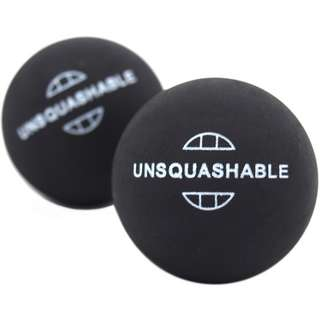 Unsquashable Squashball schwarz-gelb