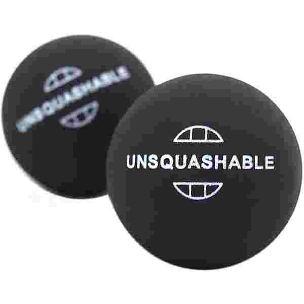 Unsquashable Squashball schwarz/gelb