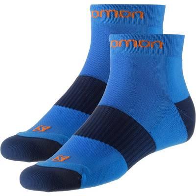 Salomon Doppelpack Ultra Wandersocken blau