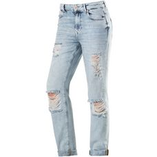 Only Lima Boyfriend Jeans Damen destroyed denim