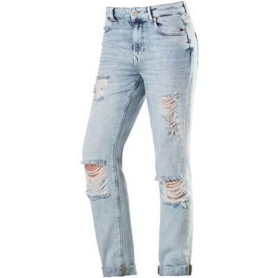 Only Lima Boyfriend Jeans Damen destroyed denim