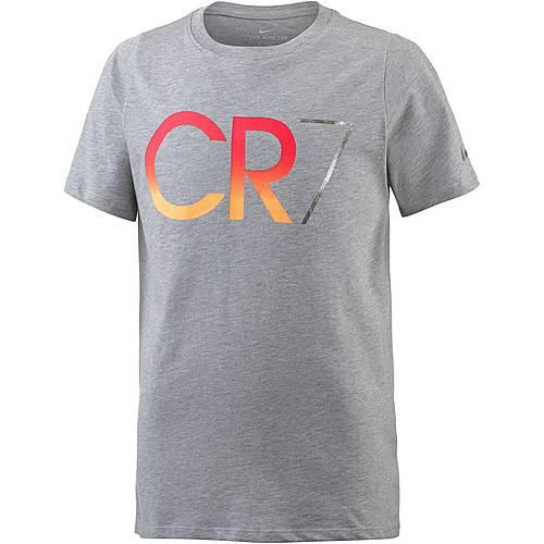 Nike CR7 T-Shirt Kinder grau