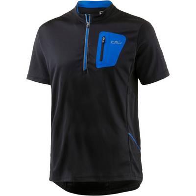 CMP Fahrradtrikot Herren schwarz/blau
