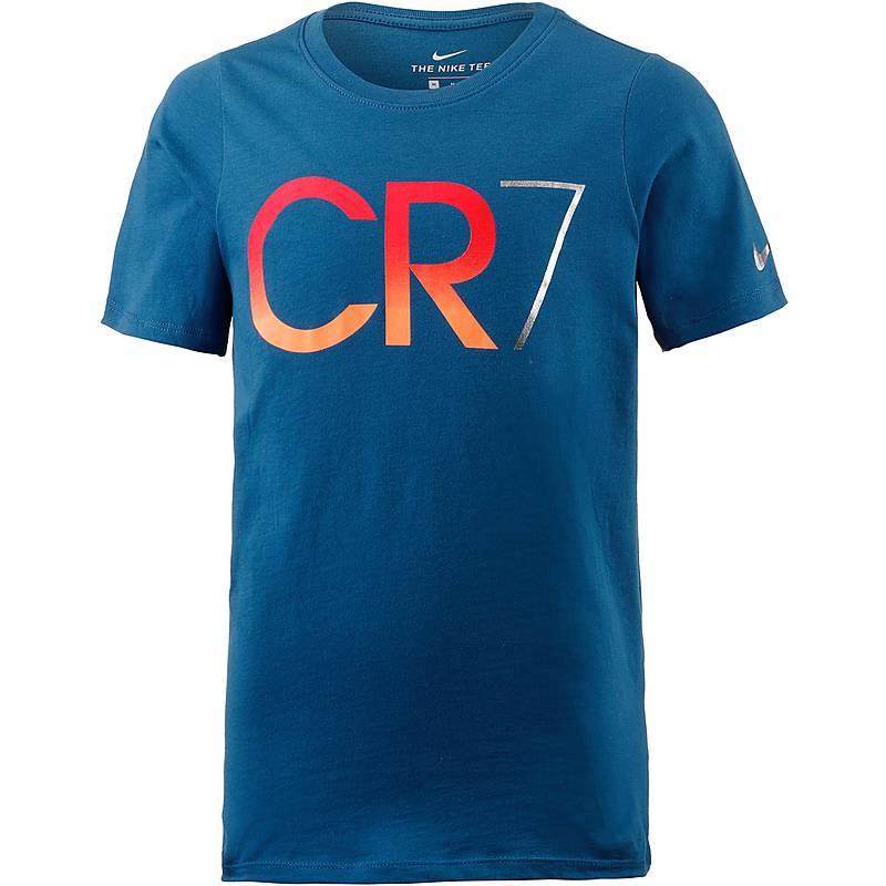 nike t-shirt herren blau