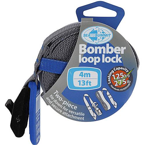 Sea to Summit Bomber Loop Lock 4m Spannriemen blau/grau