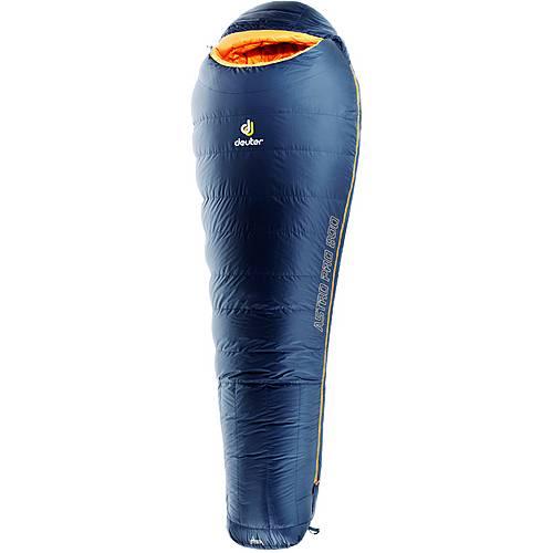 Deuter Astro Pro 800 SL Daunenschlafsack Damen dunkelblau