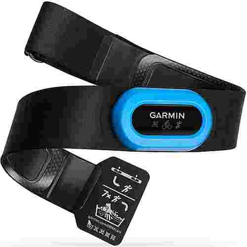 Garmin Premium Herzfrequenz Brustgurt HRM Tri Adapter schwarz/blau
