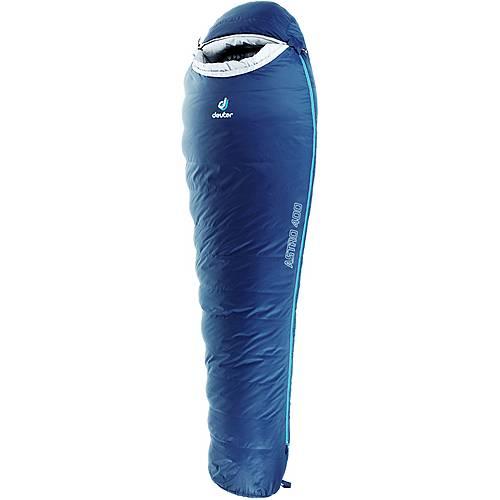 Deuter Astro 400 Daunenschlafsack dunkelblau