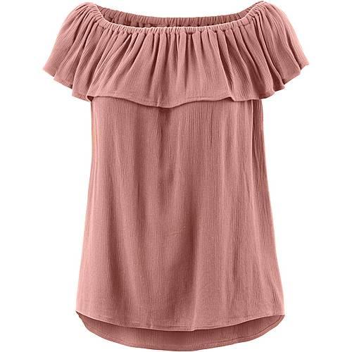 Ichi T-Shirt Damen rosa
