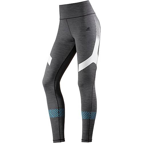 adidas Ultimate Tights Damen dark grey heather