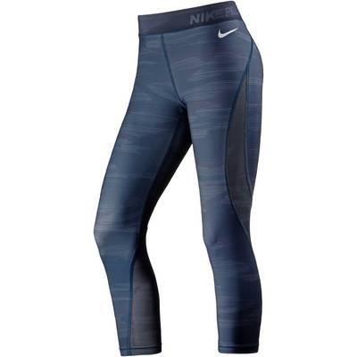 Nike Pro Hypercool Tights Damen SPACE BLUE/WHITE