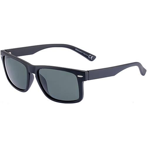 Maui Wowie B2634/01 Sonnenbrille MATTE BLACK/SILVER TRIM
