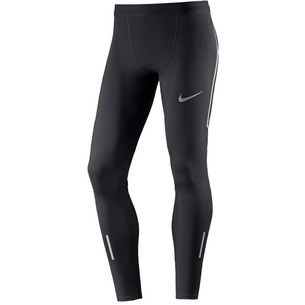 Nike Power Tech Lauftights Herren BLACK/PURE PLATINUM/(REFLECTIVE SILV)
