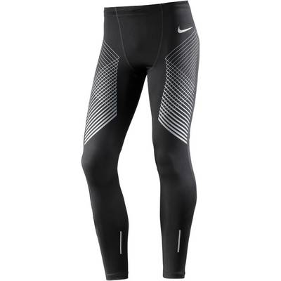 Nike POWER RUN Lauftights Herren black/cool grey/(reflective si