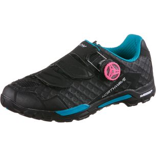 Northwave Outcross Plus Fahrradschuhe Damen black-green