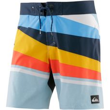 Quiksilver Slash Boardshorts Herren blau/gelb/orange