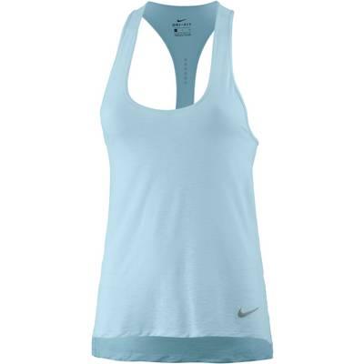 Nike Breathe Cool Funktionstank Damen hellblau