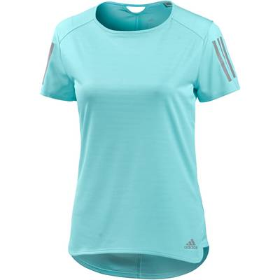 adidas Response Laufshirt Damen energy aqua