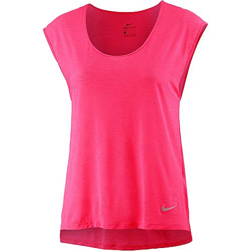 Nike Breathe Cool Laufshirt Damen pink