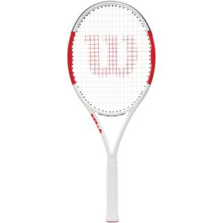Wilson Six One 102 Lite Tennisschläger weiß-rot