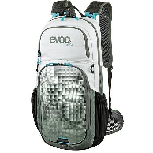 EVOC CC 16 Fahrradrucksack weiß-oliv