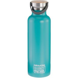 360° degrees Vacuum insulated Isolierflasche teal