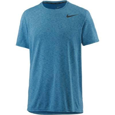 Nike Breathe Hyper Dry Funktionsshirt Herren blau camo
