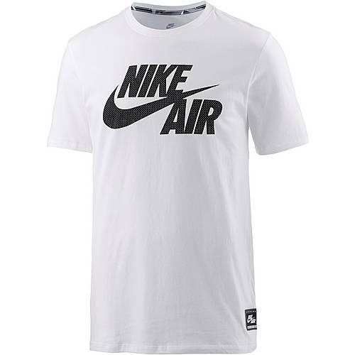 Nike Printshirt Herren weiß