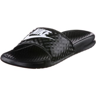 Nike BENASSI JDI Badelatschen Damen black-white