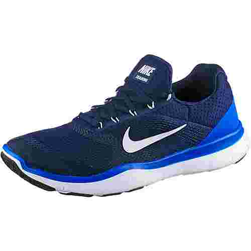 nike free trainer v7 fitnessschuhe herren blau im online. Black Bedroom Furniture Sets. Home Design Ideas