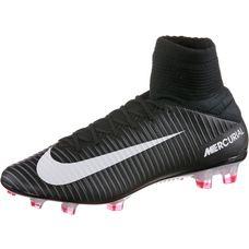 Nike MERCURIAL VELOCE III DF FG Fußballschuhe Herren BLACK/WHITE-DK GREY-UNIV RED