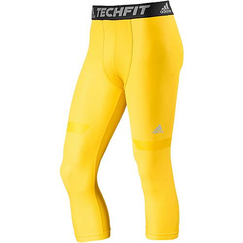 adidas Tech Fit Chill Tights Herren eqt yellow