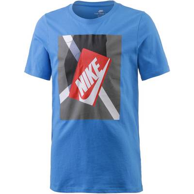 Nike T-Shirt Kinder blau