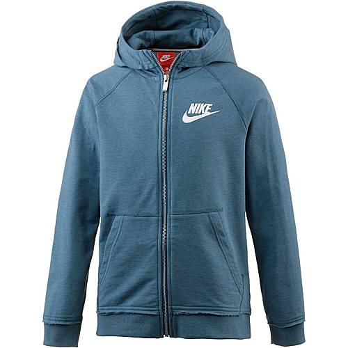 Nike Hoodie Kinder blau